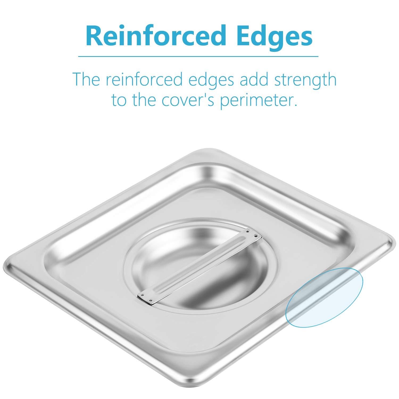 Amazon.com: Cubierta para mesa de acero inoxidable macizo de ...