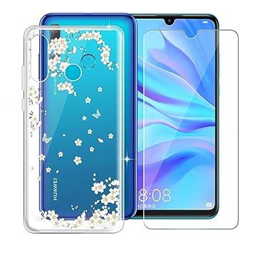 KJYF Caso Funda Silicona para Huawei P Smart Plus 2019 (6.21