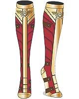 DC Comics Wonder Woman Movie Costume Sublimated Knee High Socks