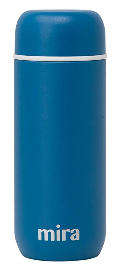 002b7859494e Mira 7 oz Insulated Small Thermos Flask | Kids Vacuum Insulated Water  Bottle | Leak Proof & Spill Proof | Blue Denim