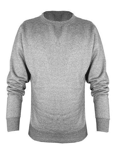 Uneek Mens Classic Sweatshirt Warm Longsleeve Top NAVY 4XL UC203