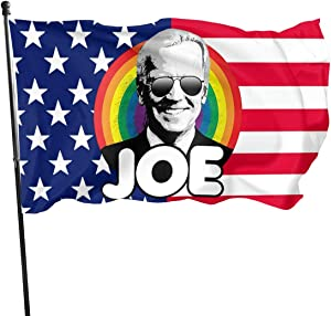 Juhucc Joe Biden Flag Garden Flag American Flag Decoration Home Flag 3x5 Feet