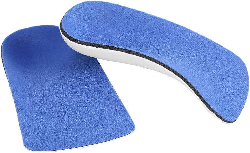 Plantillas ortopédicas, plantilla ortopédica ergonómica semiarqueada, para aliviar el dolor de la fascitis plantar del pie arqueado L