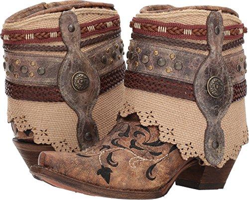 Corral Boots Women's A3463 Cognac 10 B US