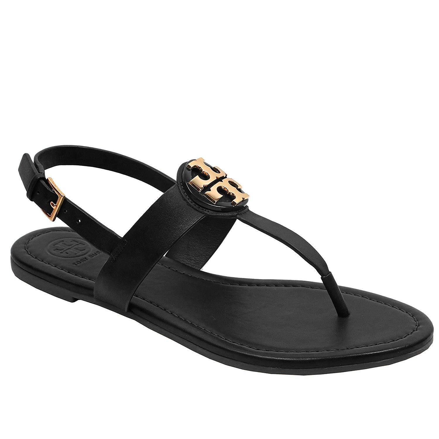 64a62e7aee9 Tory Burch Bryce Flat Thong Sandal Veg Leather  Amazon.ca  Shoes   Handbags