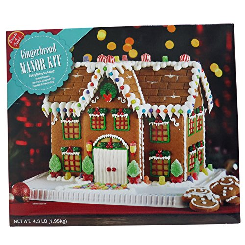 Deluxe Gingerbread Manor House Kit
