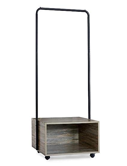 Attaccapanni Da Ingresso Moderni.Suhu Stender Appendiabiti Con Ruote Da Terra Vintage Moderno
