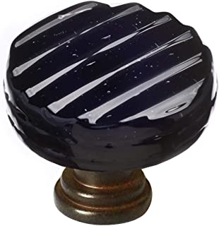 product image for Sietto R-802-ORB Texture 1-1/4 Inch Diameter Mushroom Cabinet Knob