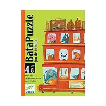 Djeco - Cartas Bata Puzzle: Amazon.es: Juguetes y juegos