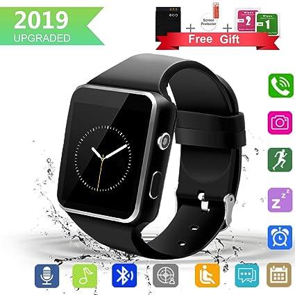 Reloj inteligente, Bluetooth SmartWatch con pantalla táctil de ...