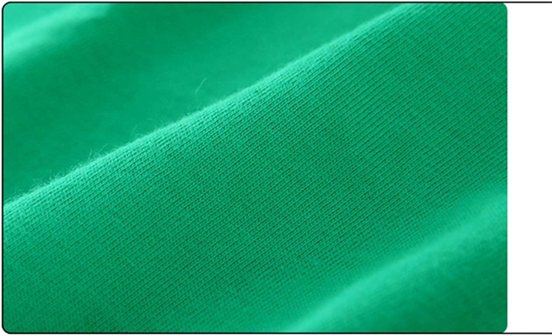 Color : C, Size : 110cm Eveliyning Unisex Babys Short Sleeve Summer Playwear Cute Cartoon Printing Design Babygirl Babyboy Round Collar Cotton Top Fashion Wild Loose Babys Solid Color Tops