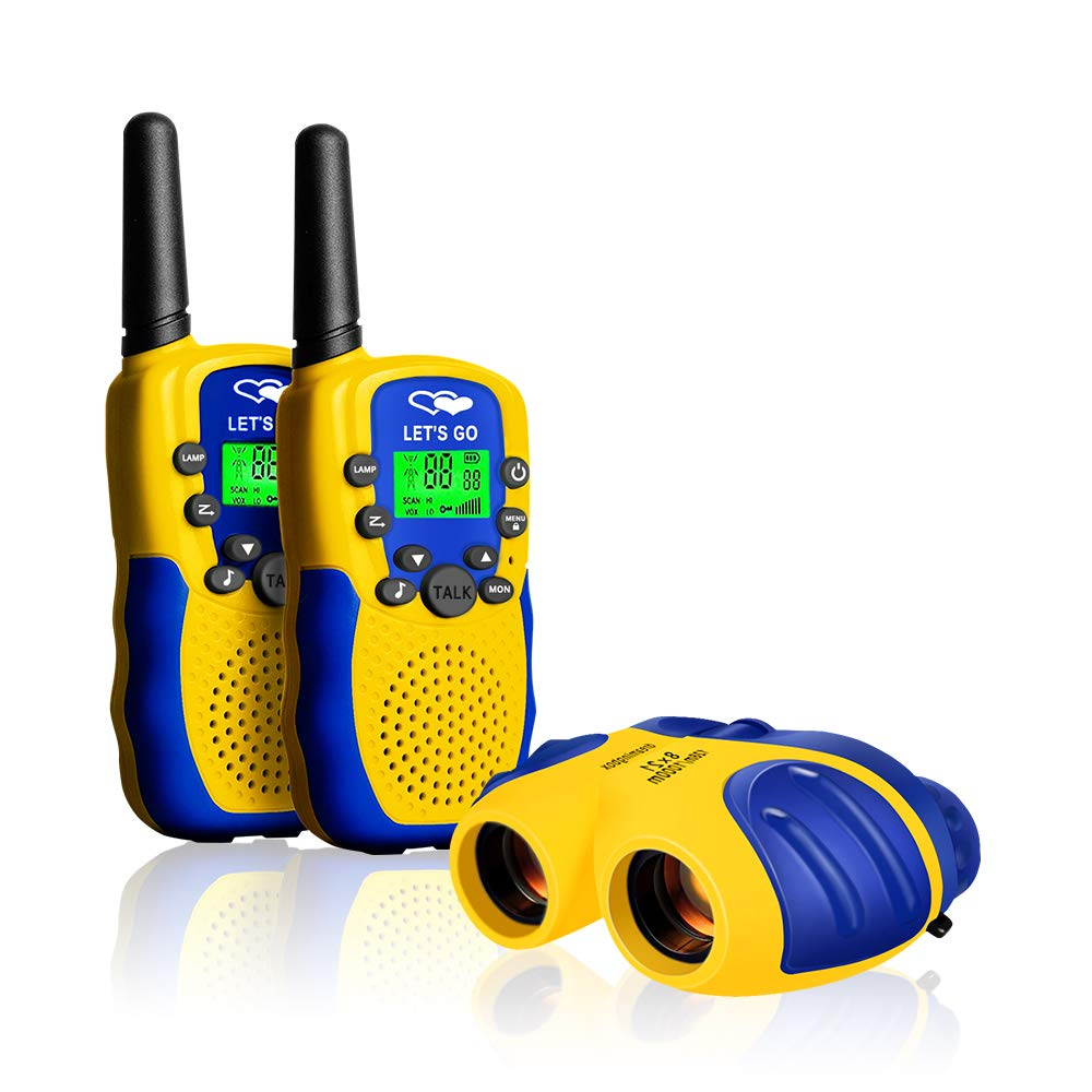 HODO Popular Outdoor Toys for 3-12 Year Old Boys, Long Range Walkie Talkies for Kids Toys for 3-12 Year Old Girls Gifts for 3-12 Year Old Boy Boy Toys Age 3-12 Girl Toys Gifts Age 3-12 HDHTS13 by HOdo (Image #1)
