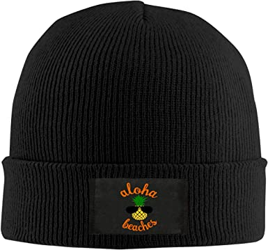 Aloha Pineapple Hawaii Unisex Winter Knitting Woolen Hat Warm Cap