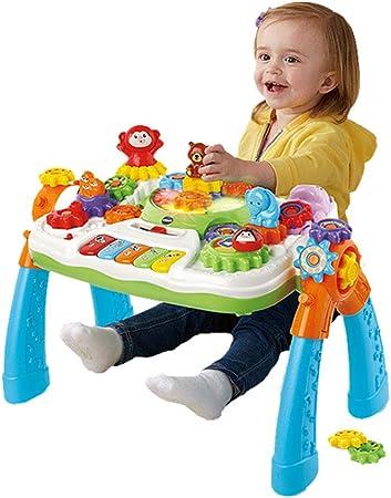 Cajas de música Juego de mesa multifuncional Equipo de mesa de juguete Mesa de estudio de
