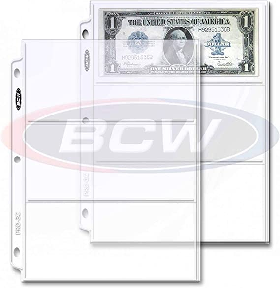 Green Front Cover Paper Money Currency Banknotes Holder 20//40 Pockets Album