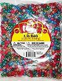 Darice 9mm Assorted Value Pack Glitter Pony Beads
