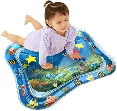 Alfombrilla de agua inflable VIBIRIT Actividad de juego Alfombrilla t/áctil central para beb/és peque/ños 60 * 55cm Alfombrilla de juego para beb/és 66 x 50 cm Juguete para beb/és 3 6 9 meses