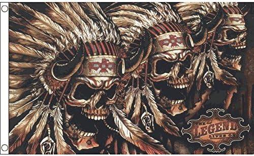 Drapeau tête de mort 9