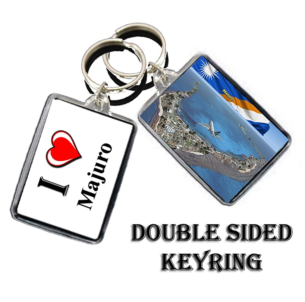 CALENDARSFORLOVE I HEART MAJURO KEYRING THE CAPITAL CITY OF ...