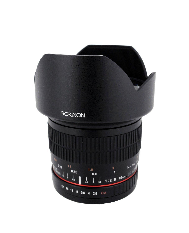 Rokinon 10mm F2.8 ED AS NCS CS Ultra Wide Angle Lens for Samsung NX Mount Digital Cameras (10M-NX) [並行輸入品]   B019SZD1A8