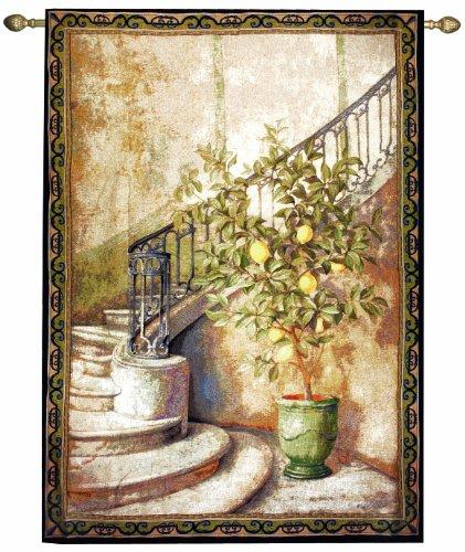 Manual Lemon Stairwell Grande Tapestry Wall Hanging, 56 X (Blue Ridge Mountain Blend)
