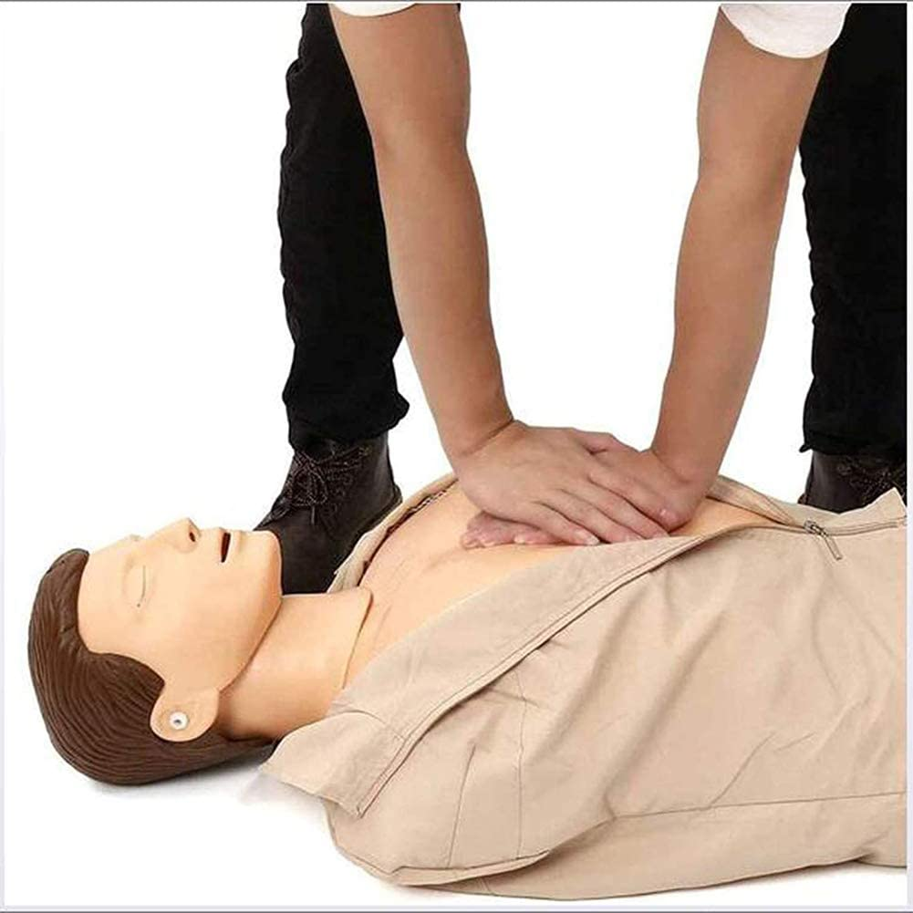Professional Adult Training Manikin for Medical Training Teaching Supplies ZMIN CPR Full Body Manikin Kit