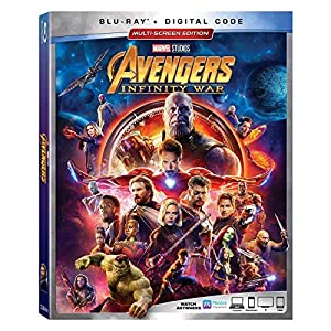 AVENGERS: INFINITY WAR [Blu-ray] from MARVEL