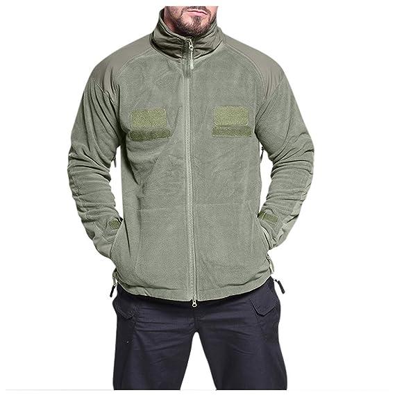 Army Green Cappotto Invernale Uomo per Cappotti da Uomo