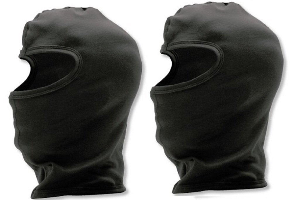 YSense Snowmobile Balaclava (2 pack of Black)