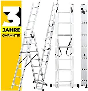 Krause 030399 CORDA - Escalera multiusos (3 x 9 saltos): Amazon.es: Bricolaje y herramientas