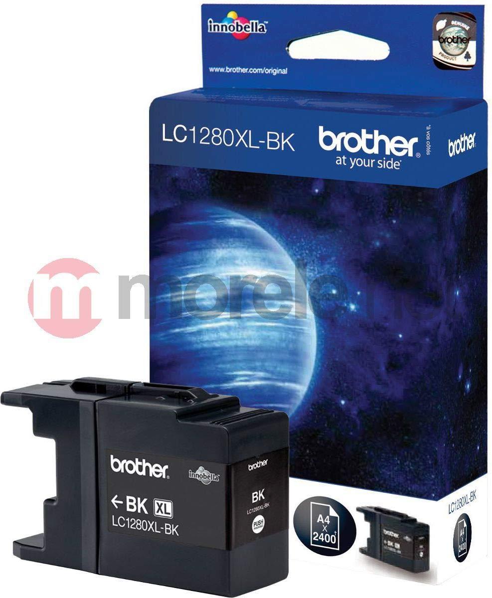 Brother LC1280XLBK - Cartucho de Tinta para impresoras (Negro ...