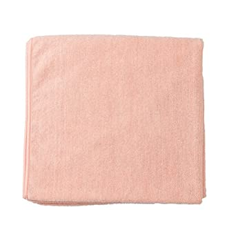 Bucky Quick Drying Microfiber Plush Terry Cloth Spa Bath Towel for  Bathroom, College Dorms, Pools, Gyms, Locker Rooms, Beaches (31x59) - Peach