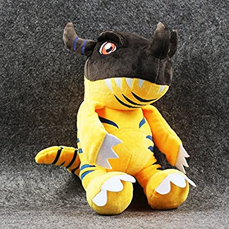 Amazon.com: New Arrival 32cm Digimon Greymon Plush Toy Super Soft Stuffed Toy Kawai: Toys & Games