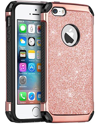 iphone-5s-case-iphone-5-case-iphone-se-case-bentoben-2-in-1-glitter-bling-hybrid-hard-cover-laminate