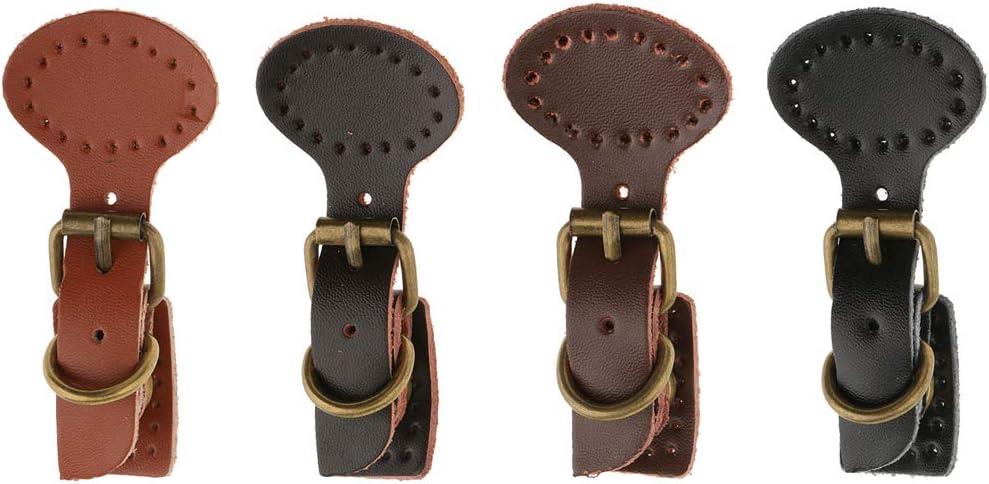 4 Sets Coser Cuero Magnético Snap Hebillas DIY Bolsa Bolso Reemplazo: Amazon.es: Hogar