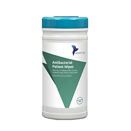 Toallitas antibacterianas Serenity, sin alcohol