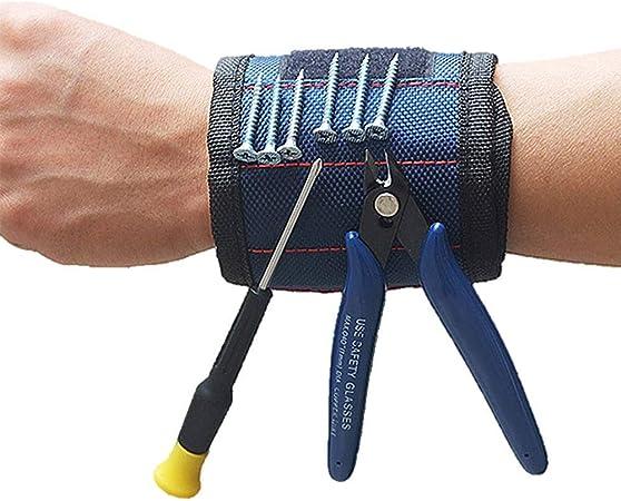 Magnetarmband Magnetisch Werkzeuge Armband Schrauben Bohrer Bits Halter Gürtel