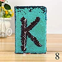 FunBlast Sequin Notebook for Girls, Stylish Sequin Diary - Color Changing Reversible Girls Diary – Size – A5 (Green)