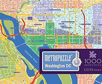 GeoToys — Metropuzzle Washington, DC — 1000 Piece Puzzles for Adults on dc subway map, dc monuments map to print, dc food map, national monuments in dc map, 14th street dc map, dc transit map, dc schools map, georgetown dc map, national harbor dc map, dc mall map, dc museums map, dc district map, dc art map, dc restaurants map, dc metro map with attractions, dc tourist map, dc tours map, washington dc map, dc neighborhood map, city center dc map,