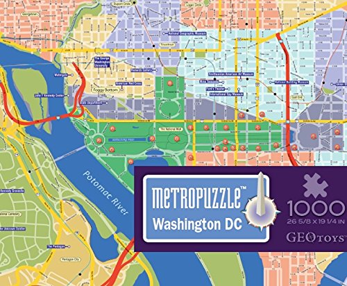MyPuzzle Washington, D.C. - 1000 piece jigsaw puzzle by - Mall City Capital