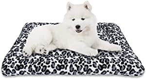 MIXJOY Dog Bed Crate Mat 30''/36''/42'' Washable Anti-Slip Kennel Pad for Large Medium Small Dogs and Cats (30-Inch)