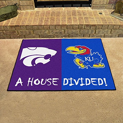 House Divided Mat House Divided - Kansas/Kansas State 33.75