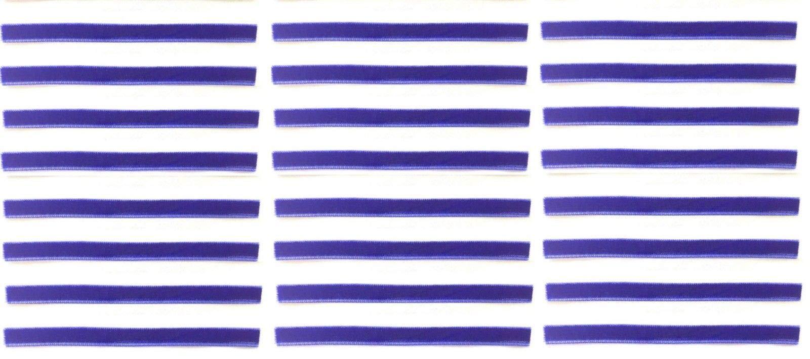 Royal Blue Replacement Cleaning Strips (24-Pack) VPI Okki Nokki 3M LP Vinyl Record Album