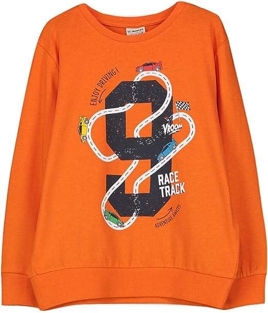 LC WAIKIKI - Camiseta de algodón para niño con diseño: Amazon.es ...