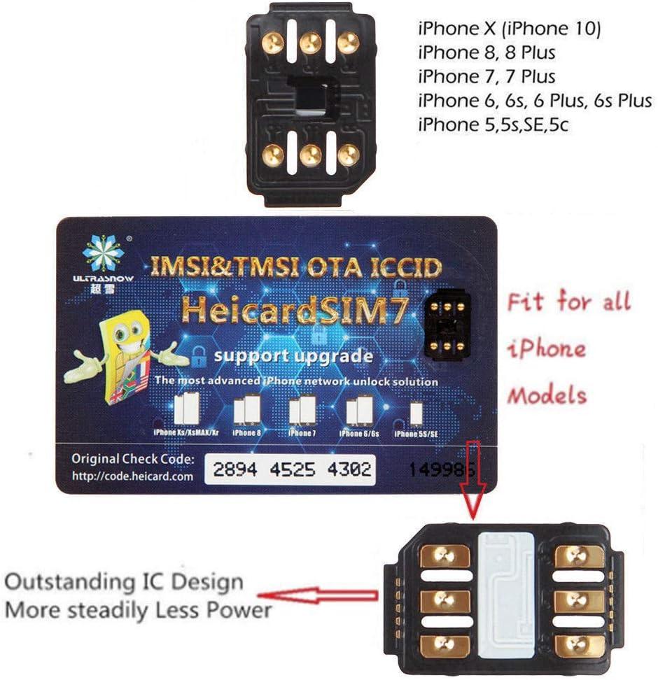 Alician Perfect Unlock Turbo SIM Card Nano-SIM for iPhone XR XS Max iOS 12 61bC0dMOFTL