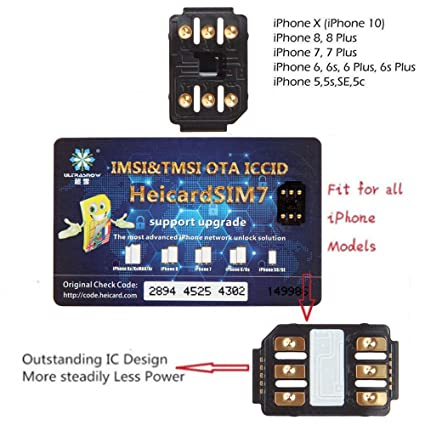 Leoie Perfect Unlock Turbo SIM Card Nano-SIM for iPhone XR XS Max iOS 12