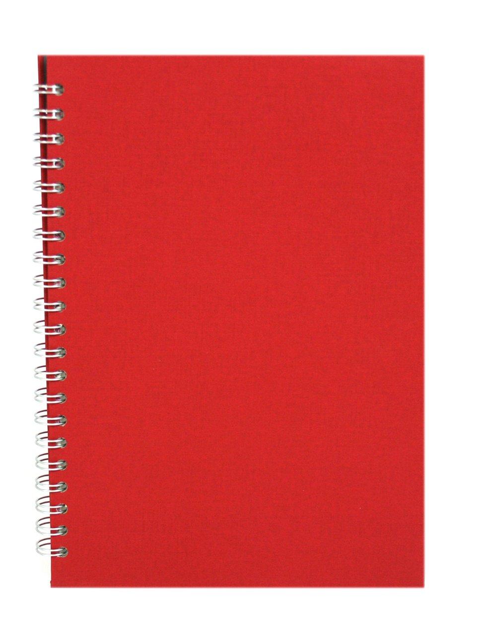 Pink Pig A4 Portrait Sketchbook | White Cartridge, 35 Leaves | Economy Ivory The-Pink-Pig.Co.Uk Ltd 74455