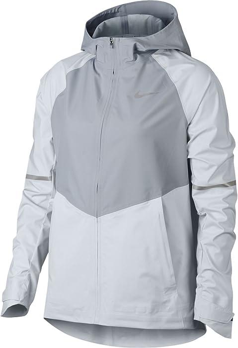 f1d9089354557 Amazon.com : Nike Zonal AeroShield Women's Running Jacket (Pure ...