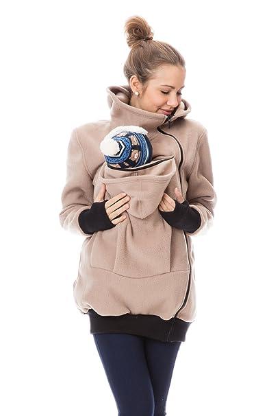 gofu Ture Mujer Chaqueta de Transporte para mamá y bebé ...