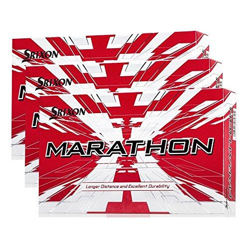 Srixon Marathon 2 White Golf Balls 1- 4 15-Ball Pack